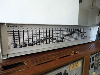 Mc Martin  LR-1006 1/3 Octave Equalizer, Vintage