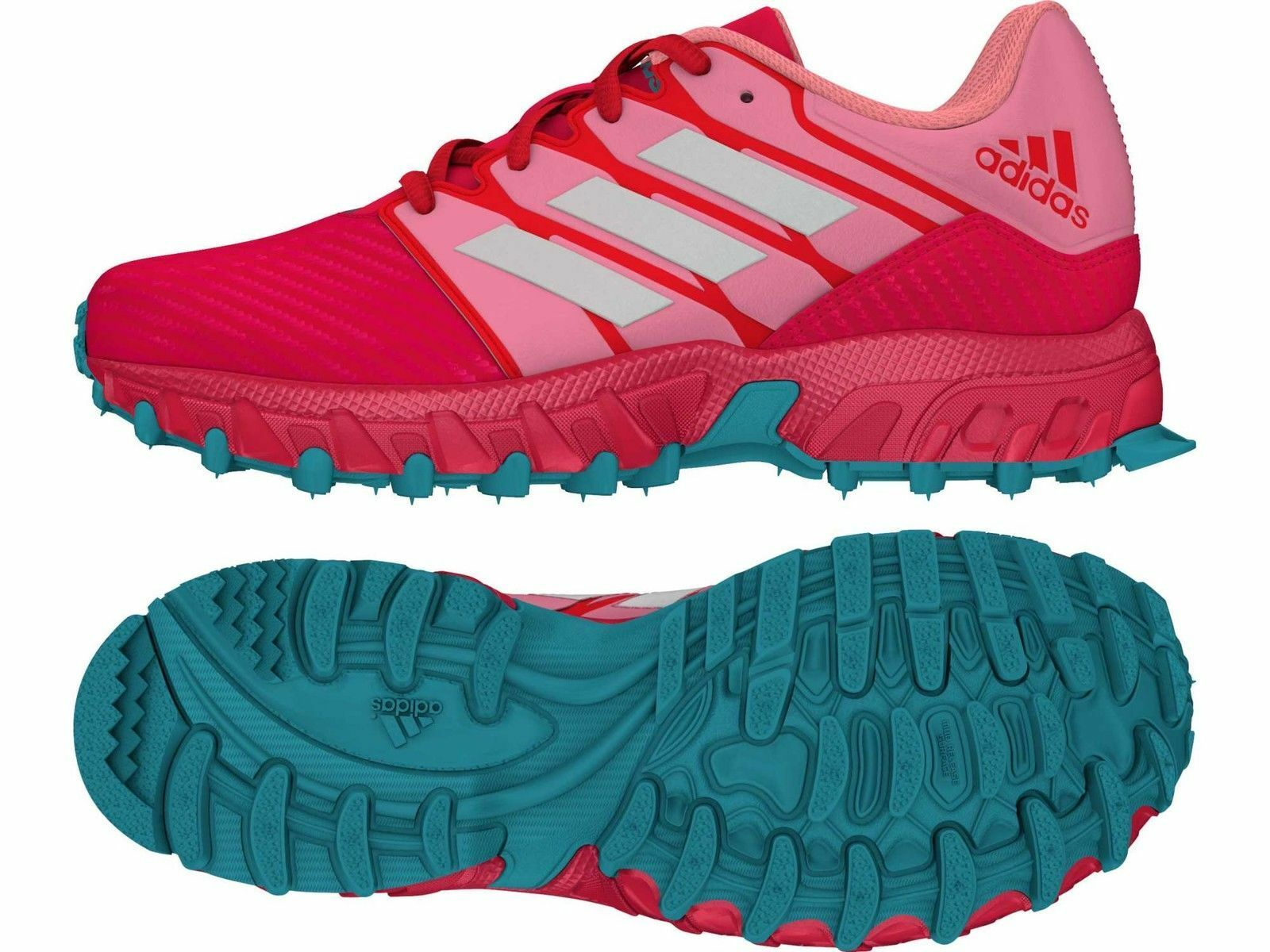Adidas Adipower II Junior Hockey Shoes - Pink - FREE P&P