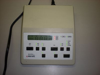 Wild Leitz Model Mps 46 Photoautomat Microscope Controller Mps46
