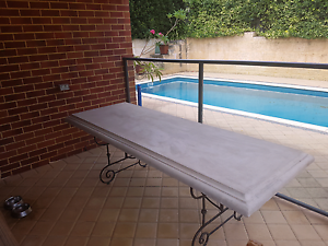 Concrete Composite Outdoor Table Wembley Downs Stirling Area Preview