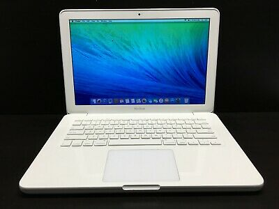 "Apple MacBook 13"" White Laptop / 2.4GHz Dual Core / UPGRADED 500GB STORAGE"