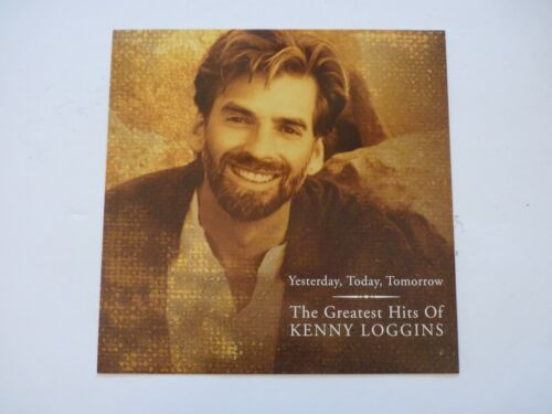 Kenny Loggins Greatest Hits Yesterday Today LP Record Photo Flat 12x12 Poster