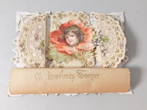 Vintage Cut Out Delicate Lace paper Valentine