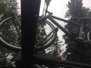 Yakima Bike Rack and Thule Aeroblade Crossbars $575 OBO
