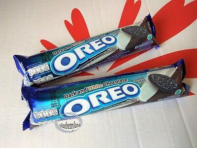 Oreo Cookies Dark & White Chocolate flavor Sandwich cookie Biscuit snacks 2 roll Chocolate Roll Cookies