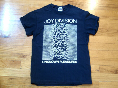 JOY DIVISION UNKNOWN PLEASURES BLACK T-SHIRT GILDAN ADULT SMALL S NEW ORDER PUNK