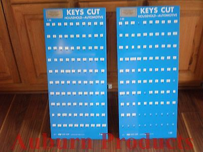 Key Blank Display Metal Esp Display Holds 100 Items Per Display