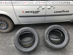 4 tires (pirelli and continenal )