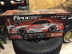 Hpi Racing Nitro RS4 3 RTR Nissan Silvia S13 RC Drift - 112587