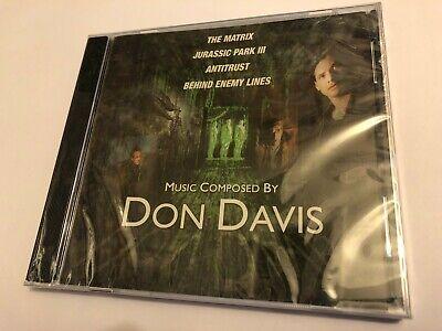 FILM MUSIC EXCERPTS (Don Davis) 2002 Composer Promo Score Soundtrack CD SEALED