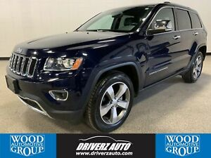 2015 Jeep Grand Cherokee Limited CLEAN CARFAX, ONE OWNER, SUN...