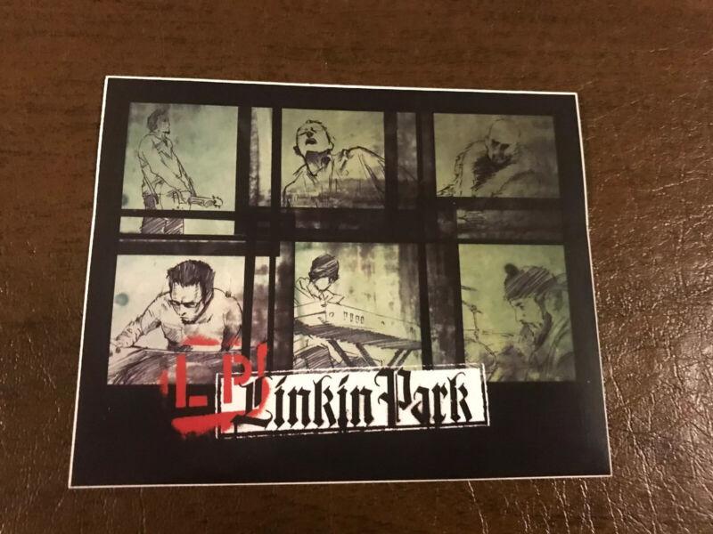 LINKIN PARK 2004 Meteora promo Sticker Card!!! Projekt Revolution