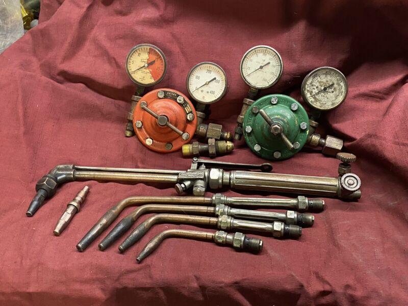 vintage Smith Welding Set