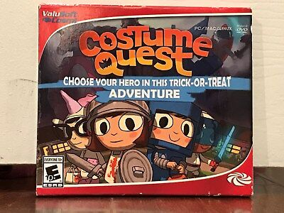 costume quest --- halloween action adventure computer game --- new - Computer Game Halloween Costumes