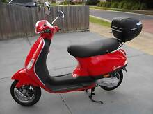 vespa lx 50  brand new was won in competition and never used Moe Latrobe Valley Preview
