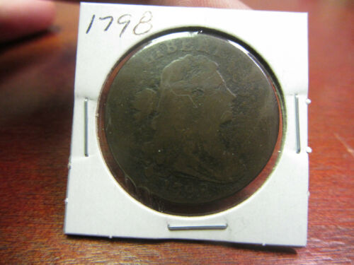 1798 DRAPED BUST LARGE CENT!!!