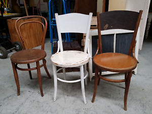 Vintage bentwood chairs set 3 Chermside Brisbane North East Preview