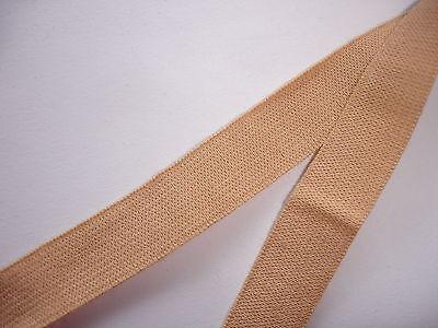 10m elastisches Band 0,23€/m beige Webgummi MN10