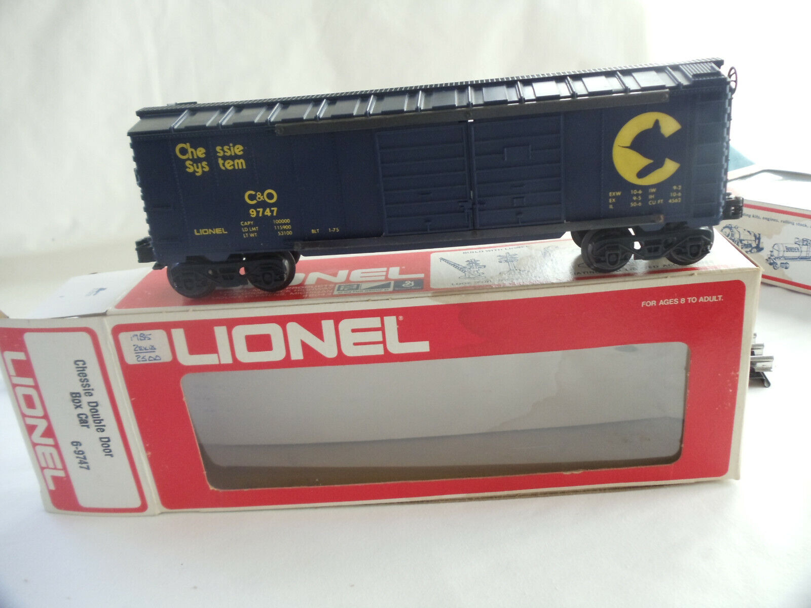 LIONEL-CHESSIE SYSTEM Double Door BOXCAR USED - $12.00