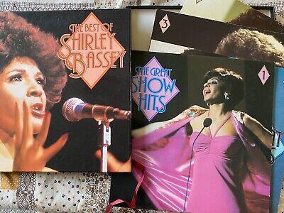 Shirley Bassey - The Best Of Shirley Bassey - UK 4×LP Box Set 1981 - VG+/EX+