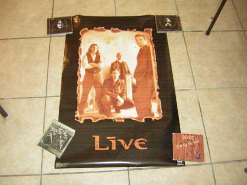 ED KOWALCZYK LIVE POSTER 1995 VINTAGE LICENSED TO BROCKUM