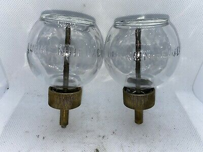 Lunkenheimer Globe Ball Bulb Glass Oilers Hit Miss Gas Engine Steampunk