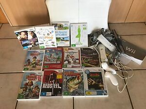Wii Fit Complete Bundle with 11 FREE games Griffin Pine Rivers Area Preview