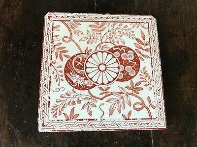 Vintage Minton decorative tile