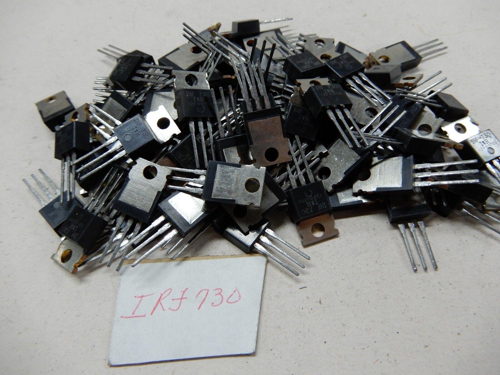 International Rectifier IRF730 Lot of 50? Transistors NOS BGX