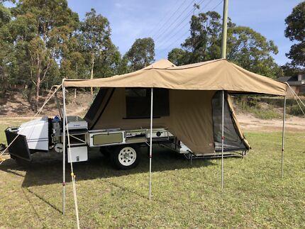 Aussie Swag Camper Trailer Eleebana Lake Macquarie Area Preview