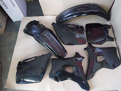 POLISPORT Plastic kit  KAWASAKI KX125 KX250 1994 1995 1996 1997 1998 shrouds BLK