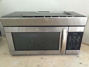 Microwave stainless steel undercounter mount