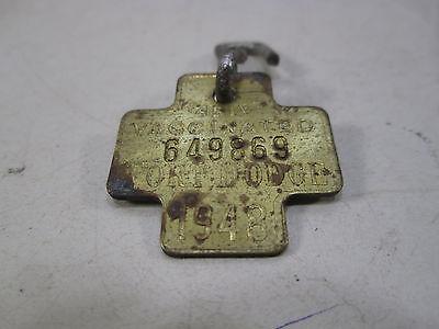 1948 Fort Dodge Dog Tag/License Fort Dodge Animal