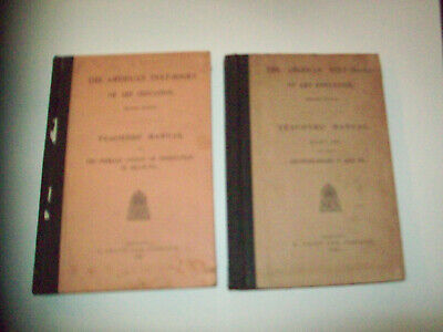 2 THE AMERICAN TEXT-BOOKS OF ART EDUCATION 2 TEACHERS' MANUAL  for sale  Shipping to South Africa