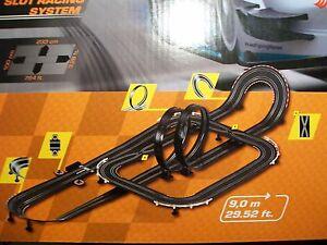 NEU, 9,00 m Erweiterungsstrecke Carrera Go / Digital 143 Auto Rennbahn Schiene
