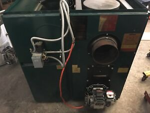 Wood/Oil furnace, Hot Water Tank and Oil Tank