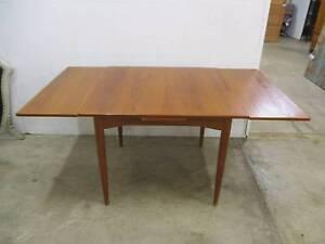 C26017 Terrific Vintage RETRO Teak Extension Dining Kitchen Table Unley Unley Area Preview