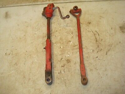 1955 Ferguson To-35 Gas Tractor 3pt Upright Lift Arms