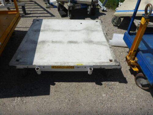 """Heavy Duty Steel Pallet Dolly Cart - 48"""" x 48"""""""