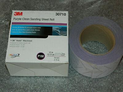 50 Off 4 Rolls 3m Hookit 334u 70mmx12m P150 Grit Purple Clean Sanding 30710