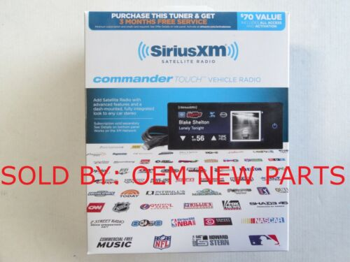 Sirius XM Commander Touch Full Color Touchscreen XM Radio model SXVCT1 NEW