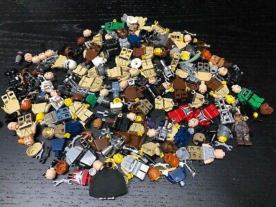 LEGO Star Wars Minifig Parts 8 ounces as shown 1/2 Pound Droids Jedi lot M553