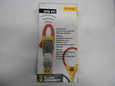 Brand New Fluke 376 Fc Wireless True Rms Acdc Clamp Meter Fluke 376-fc