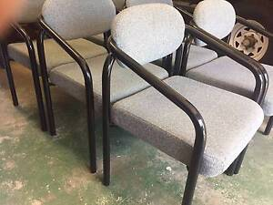 6 Office/Boardroom table chairs Southport Gold Coast City Preview