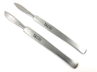 2x Stainless Steel Scalpel Blade Knife Holder Medical Dental Podiatry Surgical