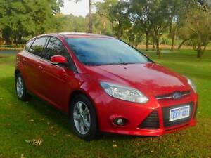 2013 Ford Focus TREND ** STUNNING CANDY RED DUCO ** LOW KMS .......... Rockingham Rockingham Area Preview
