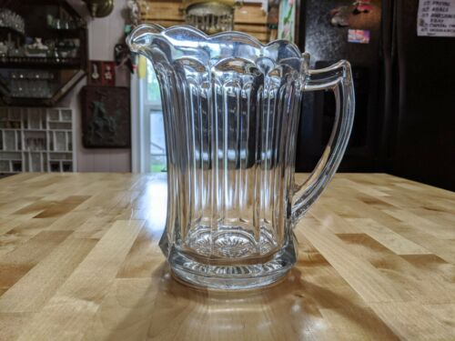 Antique Pressed Glass Pitcher
