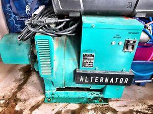 Industrial alternator