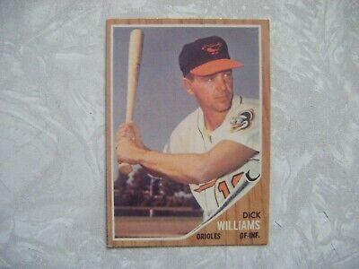 1962 Topps Baseball 382 Dick Williams EX-MT