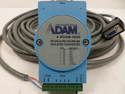 Adam Data Aquisition Module Rs-232 To Rs-422rs-485 Isolated Converter Adam-4520
